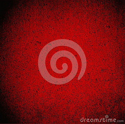 Blood Red Wall Grunge Background