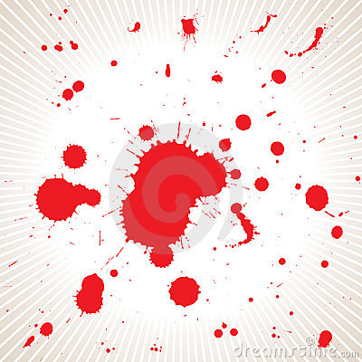 Blood splash_vector file