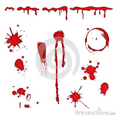 Blood splatter -