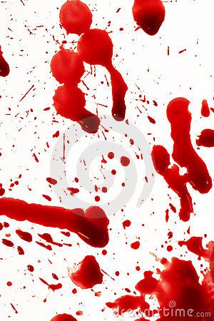 blood splatter. BLOOD SPLATTER (click image to