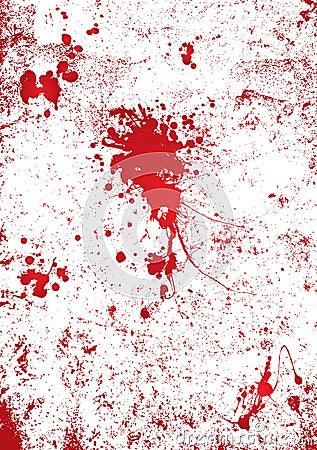 Free Blood Splatter Wall Royalty Free Stock Image - 7022606