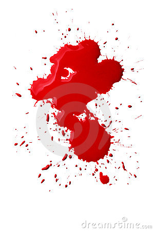 Free Blood Splatters Stock Photography - 13995872