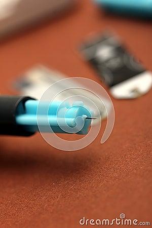Blood sugar measuring needle