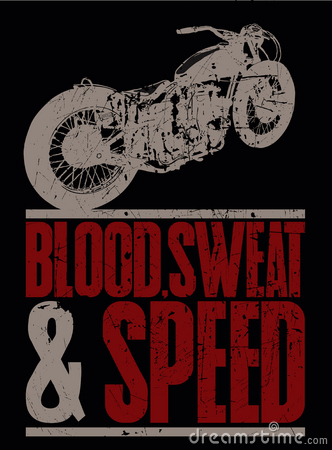 Blood, sweat and speed