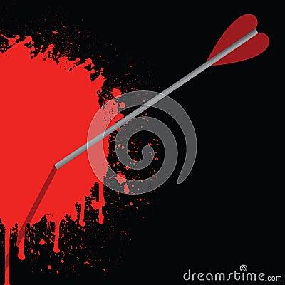Bloody arrow