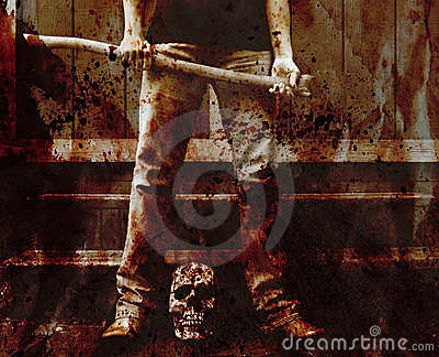 Bloody axe murderer