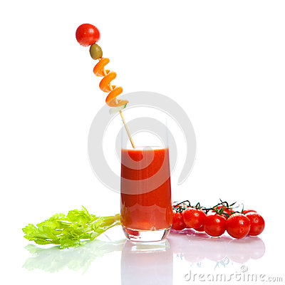 Bloody Mary - vegetable juice