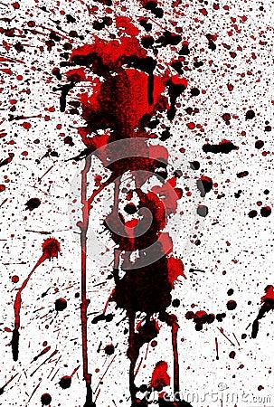 Bloody splashes
