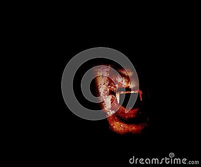 Bloody vampire face