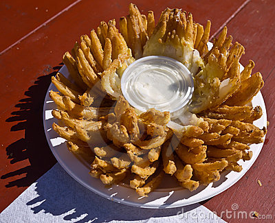 Blooming Onion - State Fair Junk Food