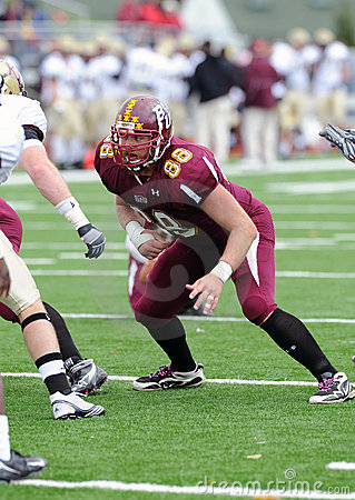 Bloomsburg Huskies tight end Ben Weaber Editorial Image