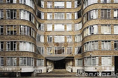 Bloque de apartamentos del art déco