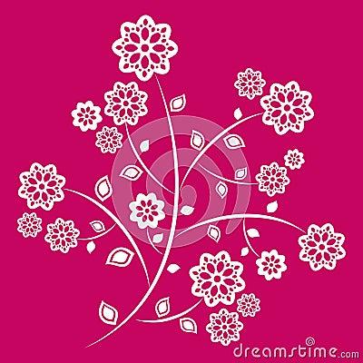 Blossom brunch ornate.
