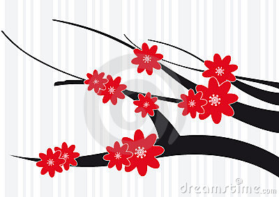 Blossom Red Flowers