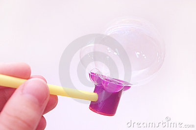 Blowing bubbles 3