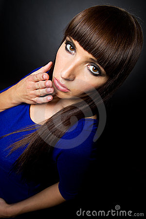 Blowing A Kiss Royalty Free Stock Images - Image: 22514609