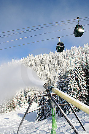 Free Blowing Snow Royalty Free Stock Image - 1659346