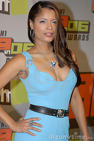 Blu Cantrell on the red carpet. Editorial Photo
