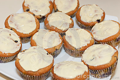 Bluberry cupcakes