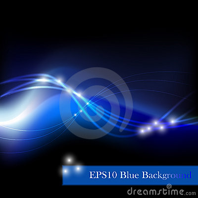 Free Blue Abstract Background Stock Images - 17858044