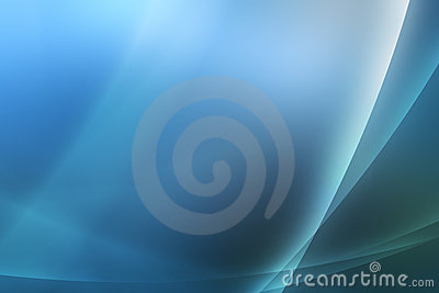 Blue abstract background / wallpaper