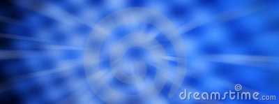 Blue Abstract Panorama Backround
