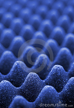 Free Blue Acoustic Foam Royalty Free Stock Image - 5575006