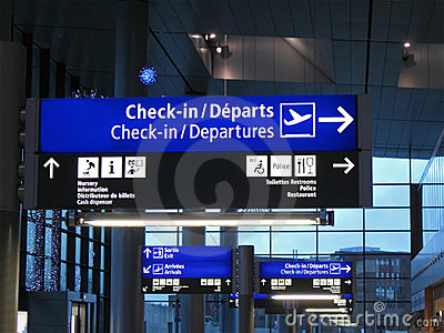 airport blue interior, gate sign, airline flight
