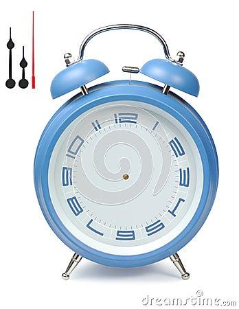 Blue Alarm-Clock