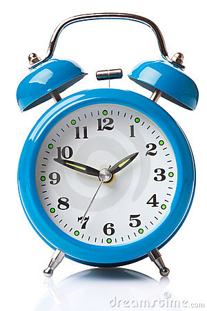 Free Blue Alarm Clock Stock Images - 16620034