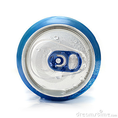 Free Blue Aluminum Can Stock Photography - 13141942