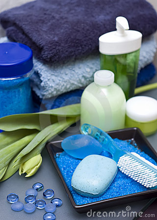 Free Blue And Green Spa Stock Photos - 4392703