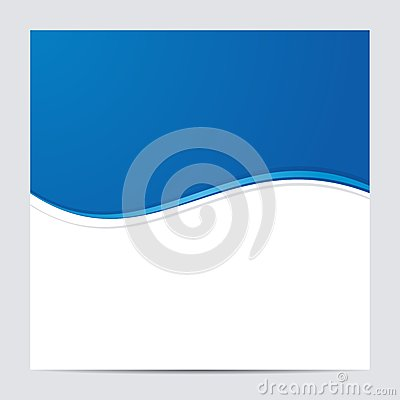 Free Blue And White Blank Abstract Background. Vector Royalty Free Stock Photos - 42500918