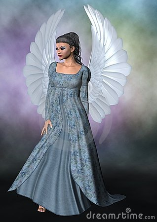 Free Blue Angel Royalty Free Stock Image - 21922176
