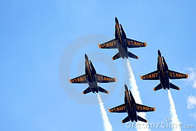 Blue Angels Editorial Stock Photo
