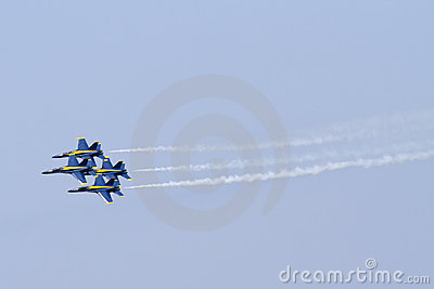 Blue Angels Editorial Image