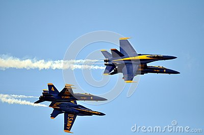 Blue Angels Editorial Stock Image
