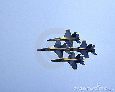 Blue Angels Editorial Photo