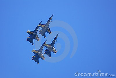 Blue Angels air display team