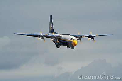 Blue Angels C-130 Editorial Image