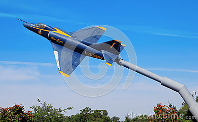 Blue Angels Display Editorial Photography