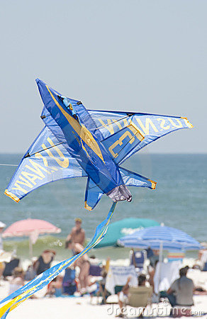 Blue Angels Pensacola Beach Airshow Editorial Photo