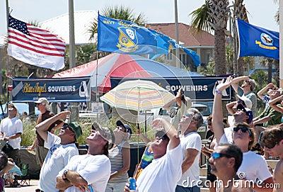 Blue Angels Pensacola Beach Airshow Editorial Image