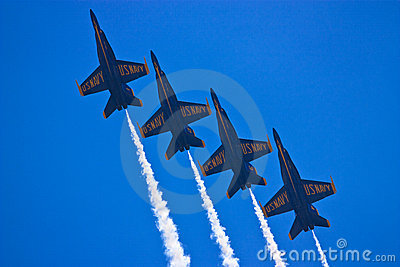 Blue Angels, Teamwork Editorial Image