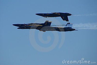 Blue Angles fighter jets