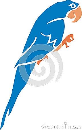 Blue ara
