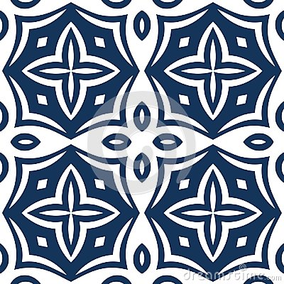 Free Blue Arabesque Pattern Stock Images - 108911734