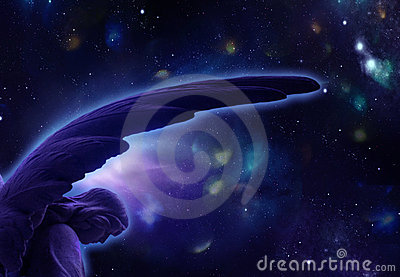 Blue Astral Angel