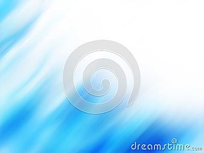 Blue aurora waves