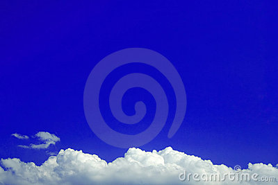 Blue Background Cloud bottom